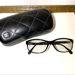 Chanel Prescription Glasses with Bag and Case
